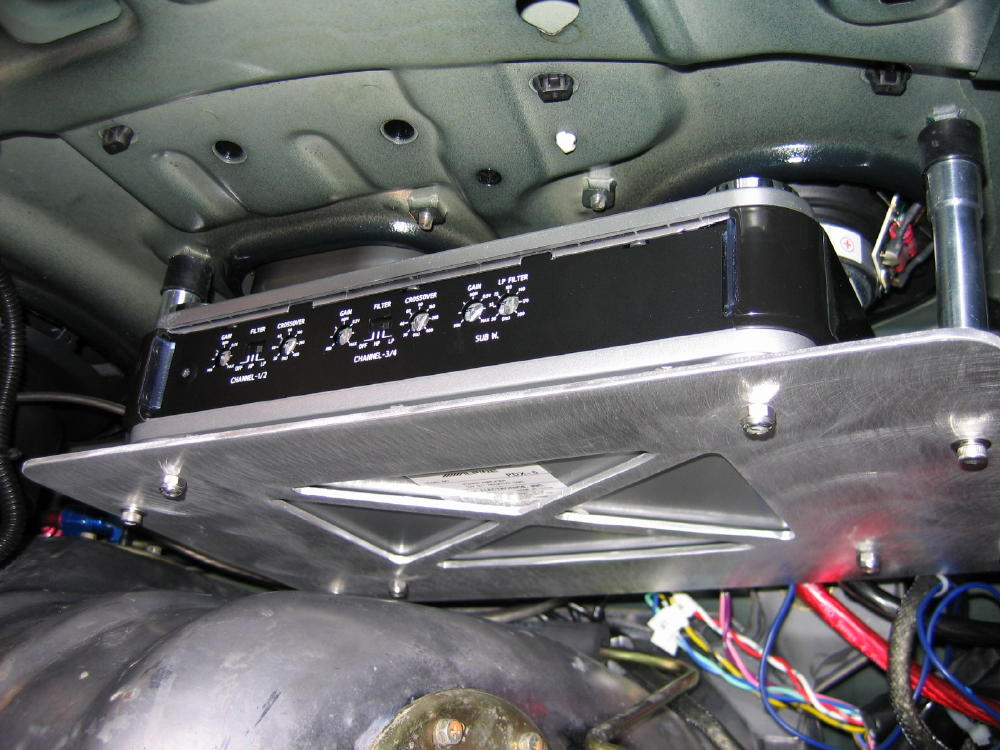 Amplifier Mounting Locations Alfa Romeo Bulletin Board