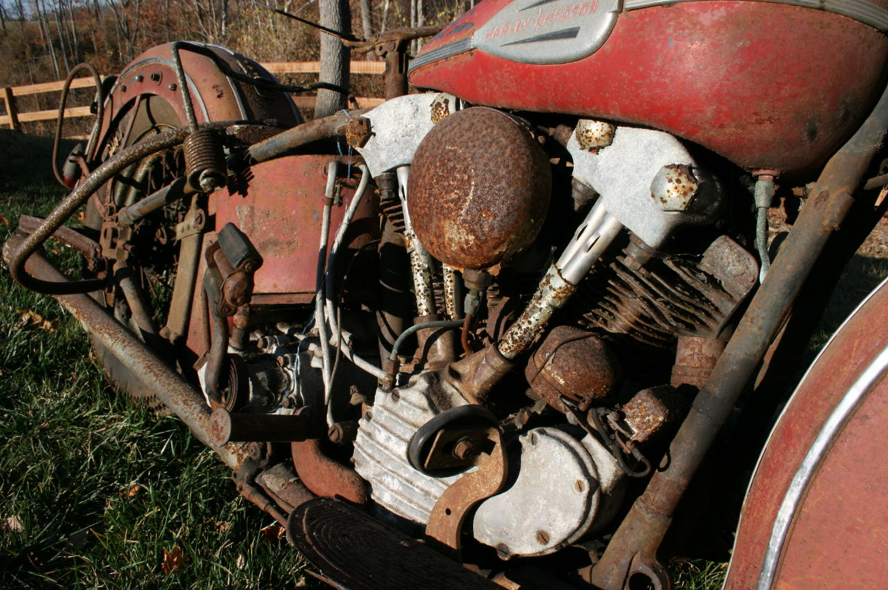 1940 Knucklehead Barn Find