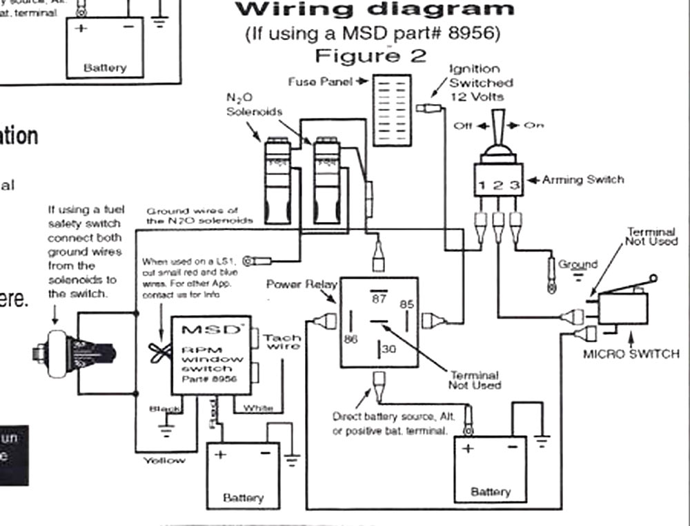 TNTWIRING nitrous oxide faq nico club nitrous relay wiring diagram at creativeand.co