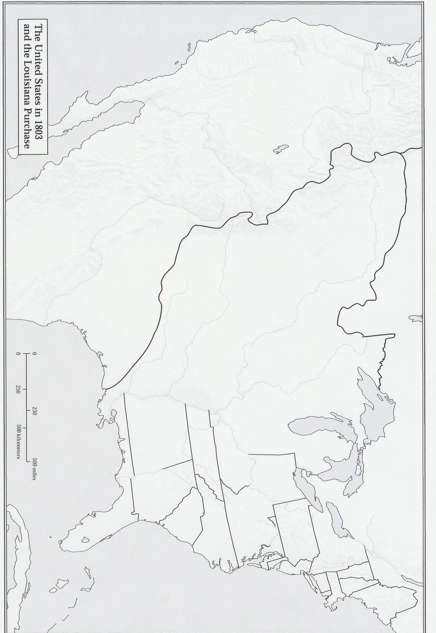 image regarding Lewis and Clark Printable Map named Cartographers