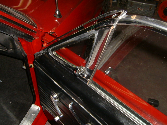 1966 mustang for 1966 mustang quarter window installation