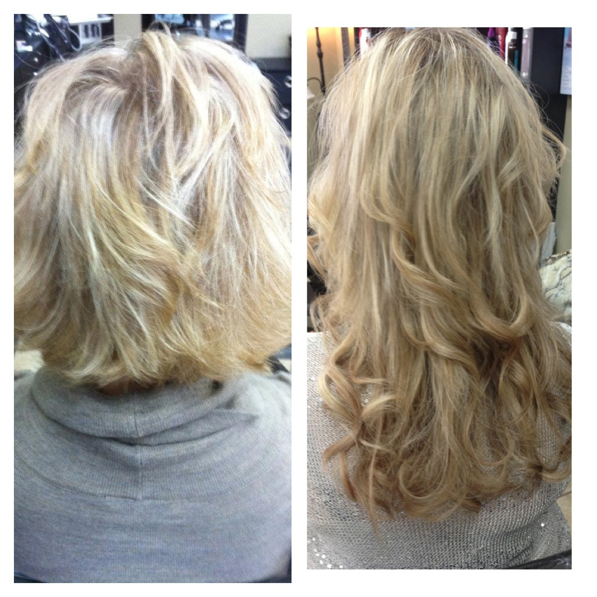 Shoulder Length Hair With Extensions Human Hair Extensions