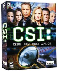 The CSI PC Game- arriving March 25, 2003