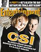 EW Magazine, featuring C.S.I.